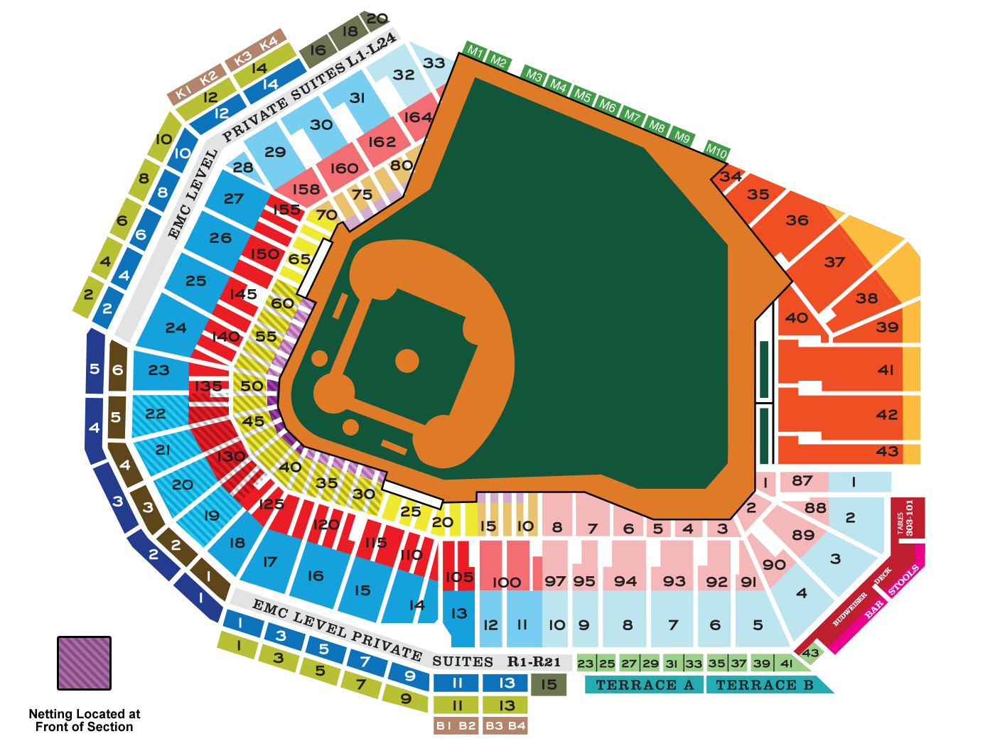 Fenway Park Seating Map Mlb Com