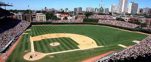 Wrigley Field de Los Cubs de Chicago