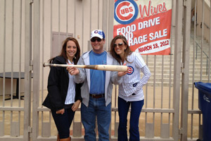 Cubs Wives HoHoKam Park Food Drive and Garage Sale
