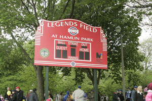 The community enjoys an afternoon at Cubs Care Legends Field at Hamlin Park.