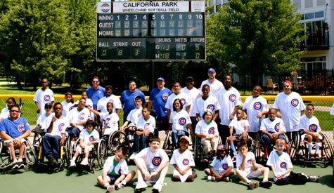 Cubs Players in the Community