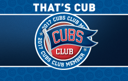 Cubs Club Card