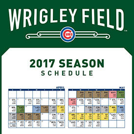Cubs Printable Schedule