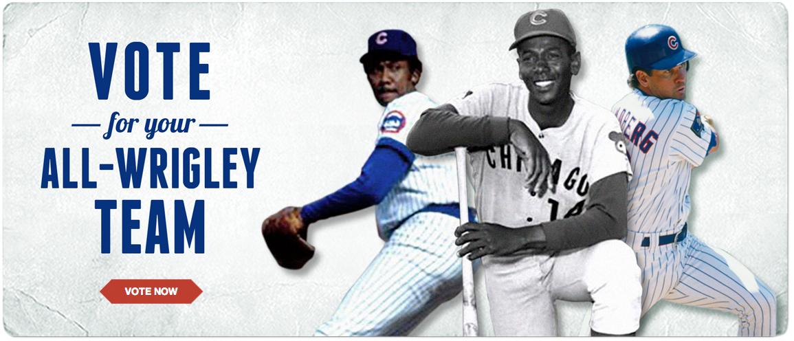 Vote for Your All-Wrigley Team