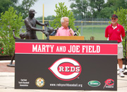 Marty and Joe Field at Waterworks Park