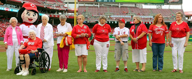 Past Presidents of the Rosie Reds
