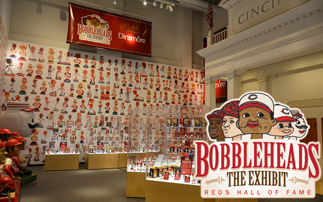 Bobbleheads the Exhibit, presented by Dinsmore