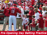 Pre-Opening Day Batting Practice Event