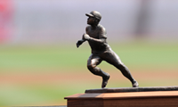 Joe Morgan Statue Replica