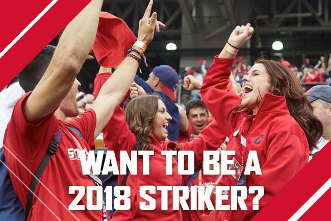 Want to be a 2018 Striker?