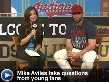 Watch Mike Aviles take questions from young fans in the Kids Clubhouse!