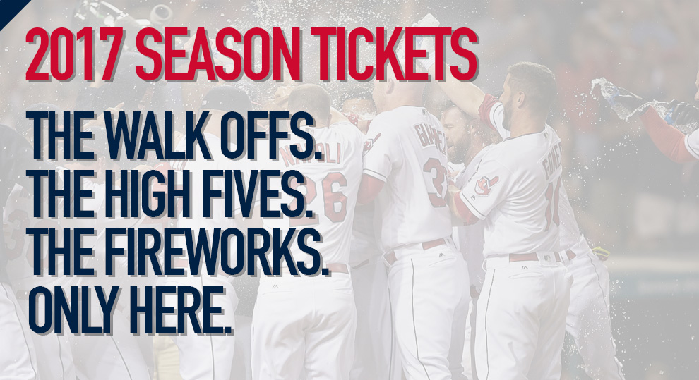 Don't Miss a Pitch with Indians Season Tickets