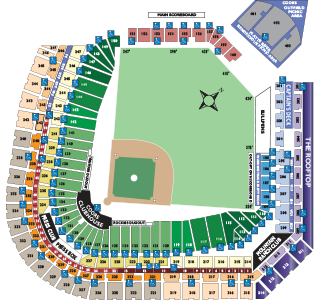 Stadium Seating Chart
