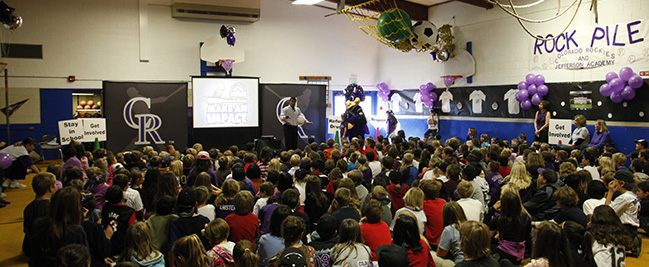 Rockies in the Community
