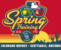 Rockies Spring Training