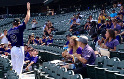 Rockies Youth Baseball Camp