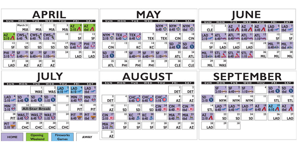 The Chicago Cubs Schedule is Here