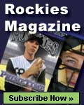 Subscribe to Rockies Magazine, the official magazine of the Colorado Rockies.