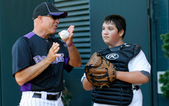 Rockies Baseball Clinic