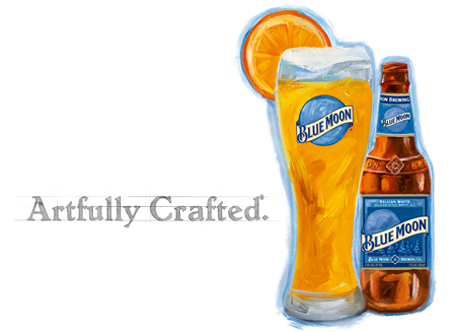 Blue Moon - Artfully Crafted