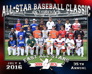 East vs. West High School All Star Game at Comerica Park