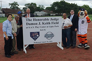 Baseball Field Dedication