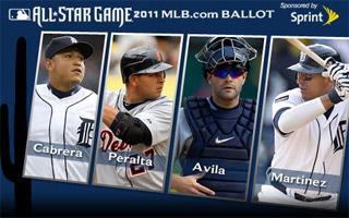 Miguel Cabrera, Jhonny Peralta, Alex Avila, Victor Martinez (AP Photo)