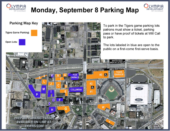 Traffic Advisory- Monday, September 8
