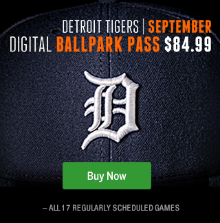 Tigers Digital Ballpark Pass