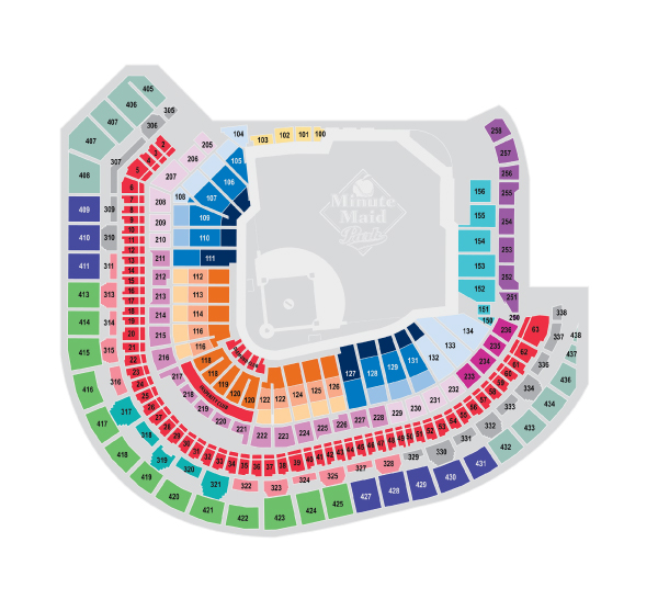 Astros Seating Chart