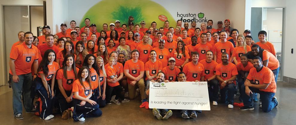 Astros Volunteer Team