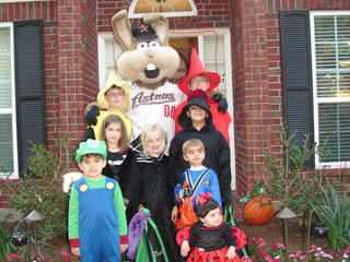 Trick-or-Treating with Junction Jack