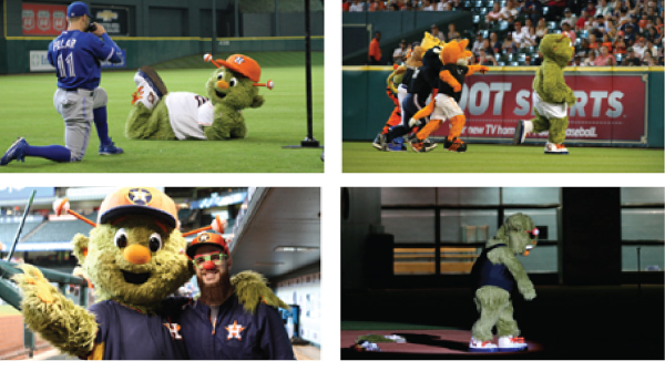 Astros Mascot - Orbit