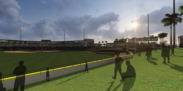 The Ballpark of the Palm Beaches Stadium in West Palm Beach, Florida