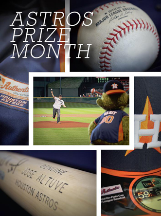 Astros Prize Month