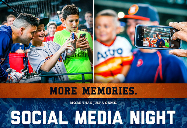 Astros Meet & Tweet | Social Media Night