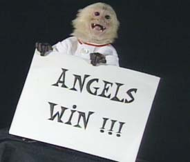 Rally Monkey Angels Win