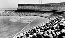 Candlestick Park on 1960 opening day