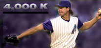 randy johnson, 4000 Ks