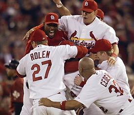 The St. Louis Cardinals - 2004 National League Champions!