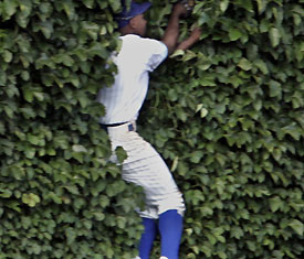 Juan Pierre in ivy