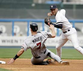 derek jeter double play
