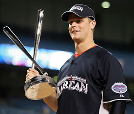 Justin Morneau hit 22 dingers on his way to earning the Home Run Derby title.