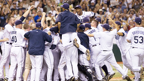 Rays Clinch Playoffs