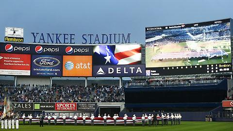 New Stadium scoreboard is a marvel | MLB.com  Yankees