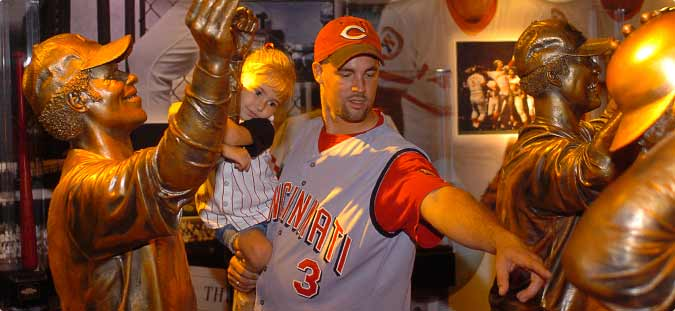 Plan Your Visit to the Reds Hall of Fame presented by Dinsmore