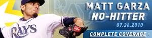 Matt Garza, No-hitter