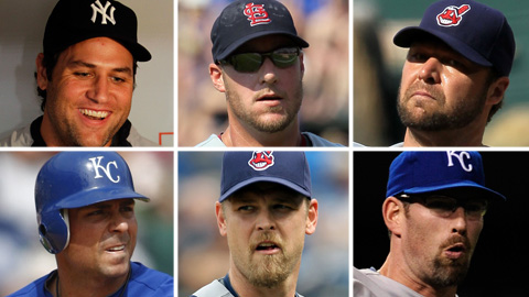 Lance Berkman, Ryan Ludwick, Jake Westbrook, Rick Ankiel, Kerry Wood, Kyle Farnsworth.