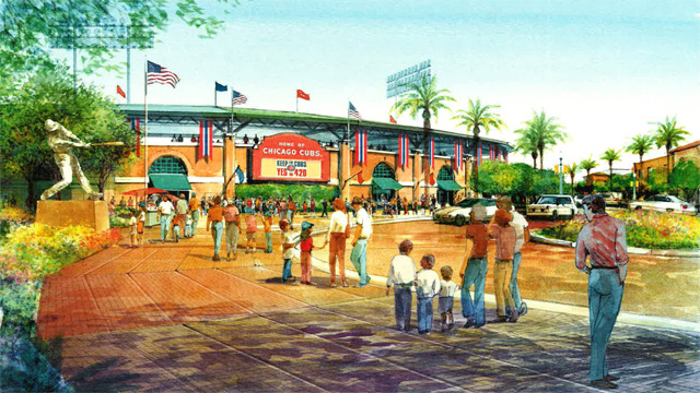 The Plans for the Chicago Cubs' New Spring Training Facilities Are Taking Shape