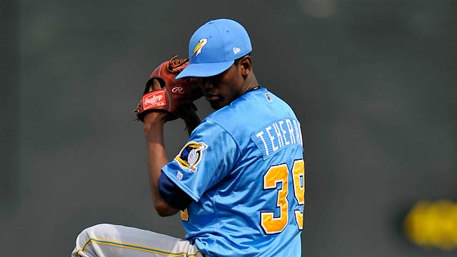 Highly touted Teheran set for Braves camp
